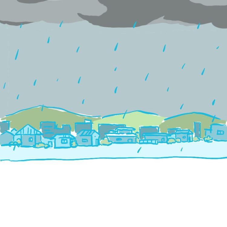 大雨と雷。災害情報の伝え方の進化