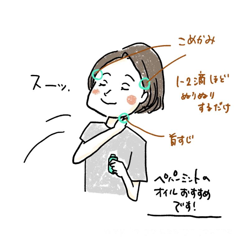 ミントの香り